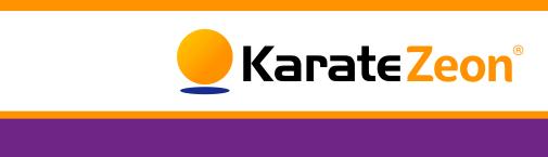 Verdon - Logo Karate Zeon