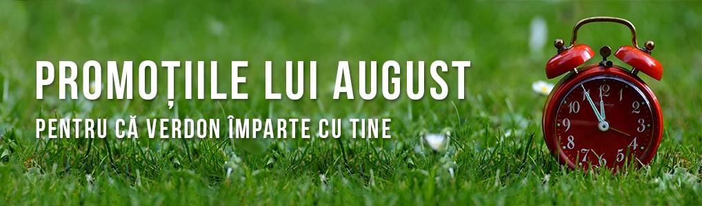 Promotiile lui August