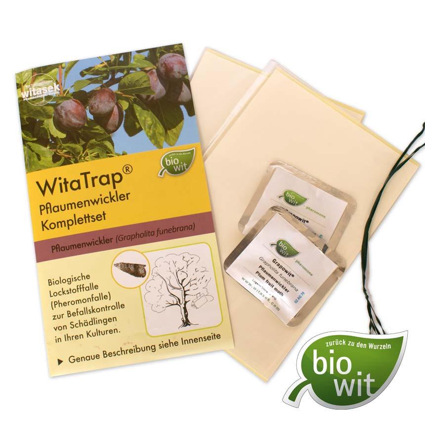 Capcana cu feromoni WitaTrap viermele prunului