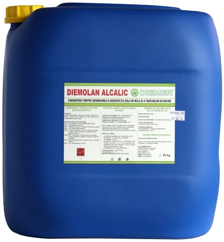 Dezinfectant degresant pentru aparate de muls Diemolan